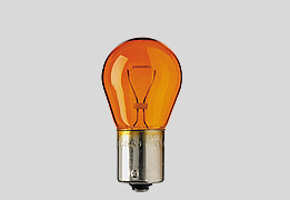 GLÖDLAMPA 21W BA15s GUL/ORANGE, 10-pack