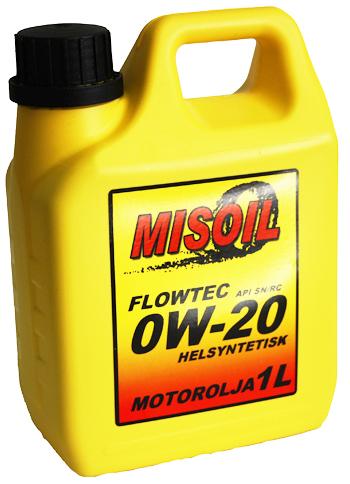 MISOIL FLOWTEC 0W-20 5L