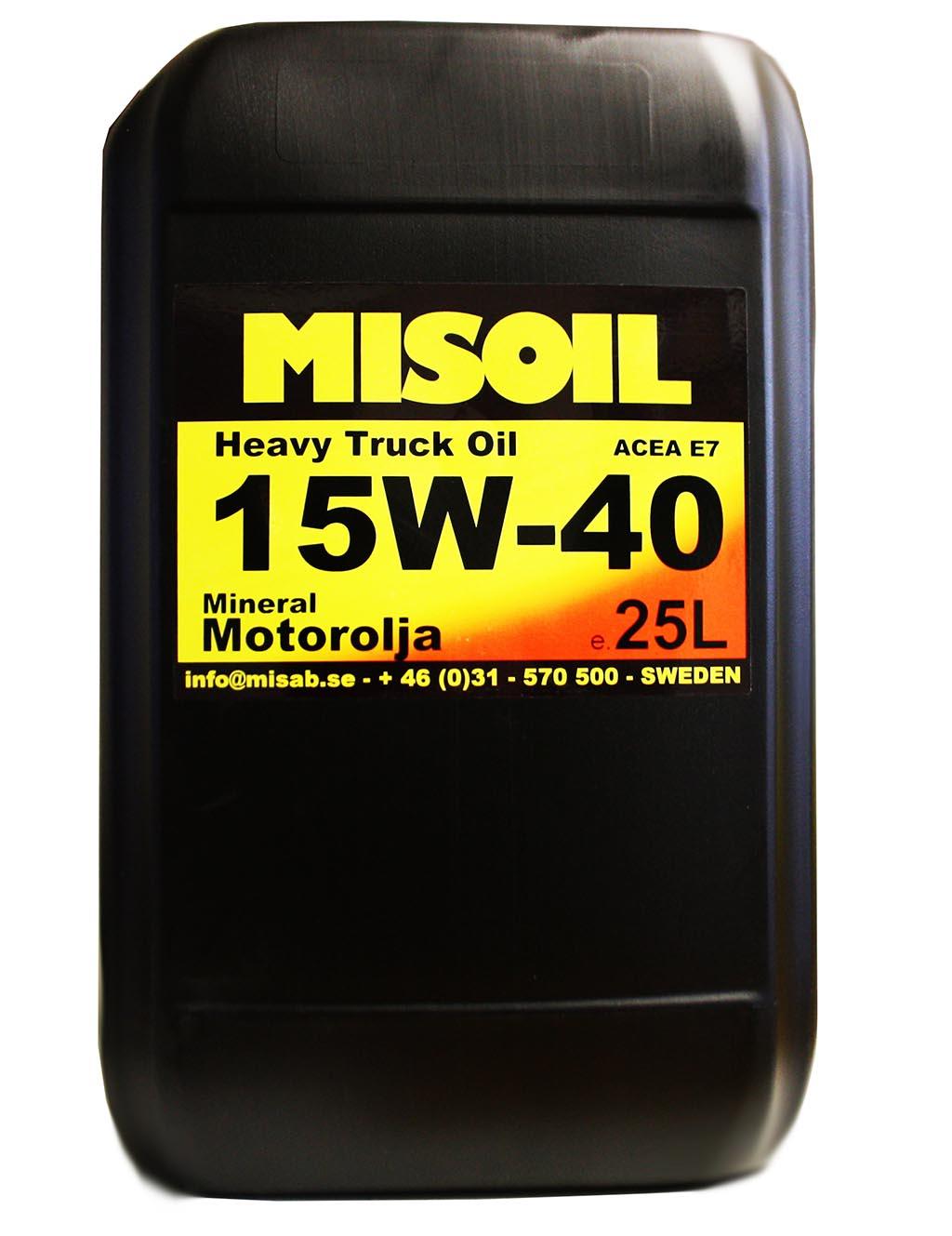 MISOIL HTO 15W-40