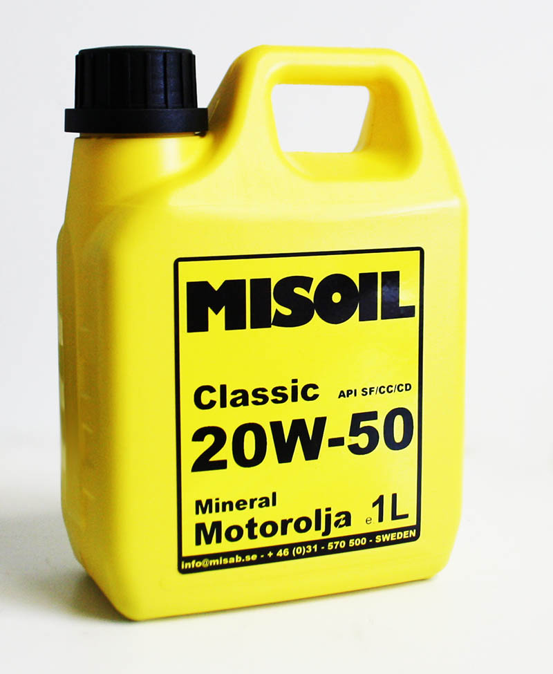 MISOIL CLASSIC 20W-50