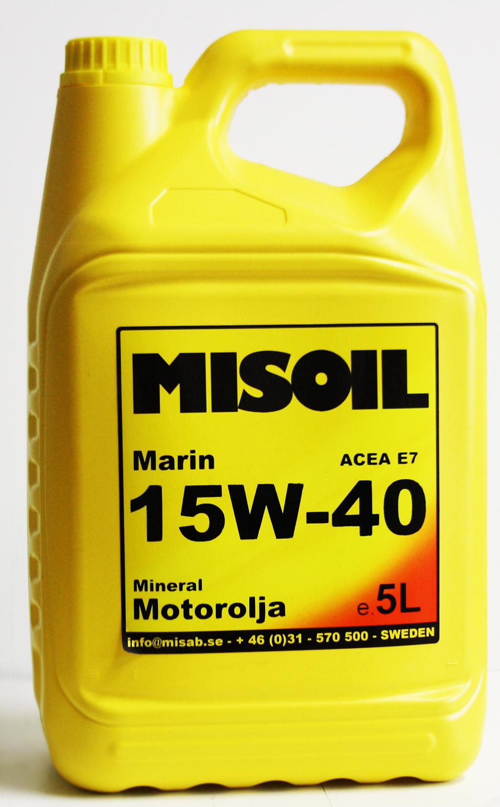 MISOIL MARIN 15W-40
