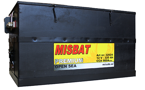 BATTERI OPEN-SEA 320 AH