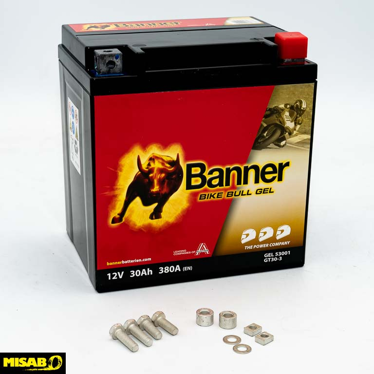 BANNER BIKE BULL GEL 30 AH