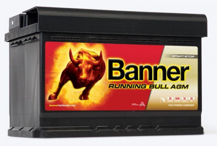 BANNER RUNNING BULL AGM 70 AH