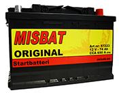 MISBAT ORIGINAL 74AH