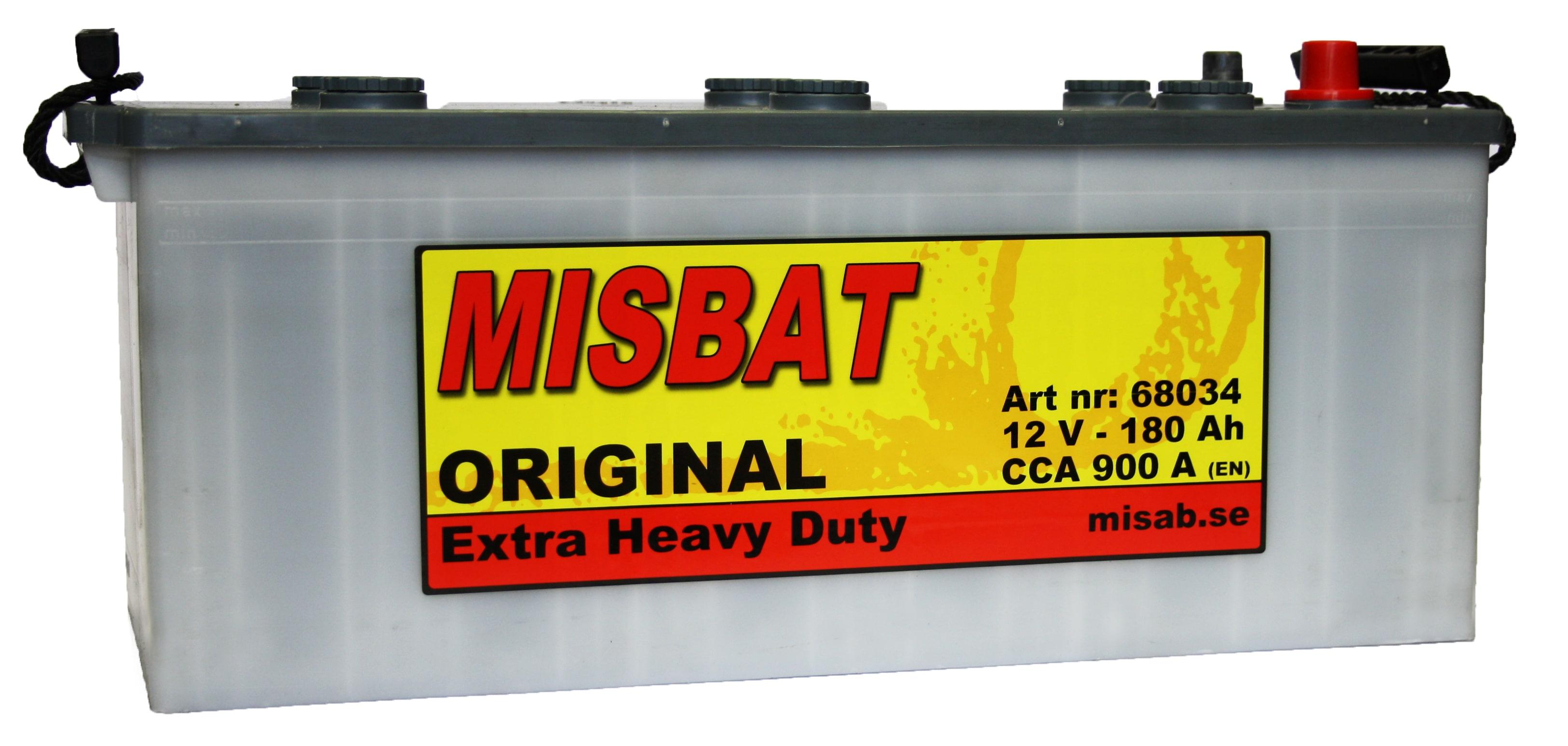 MISBAT ORIGINAL EHD 180 AH