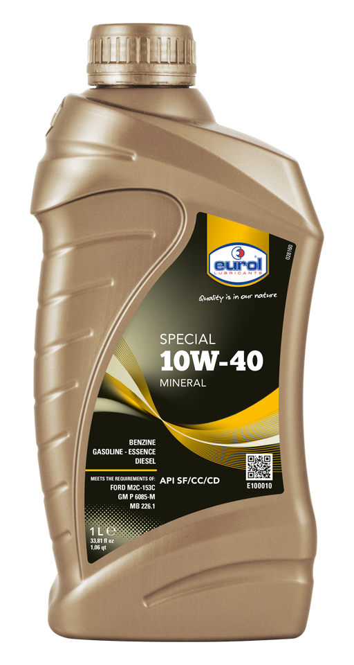 EUROL SPECIAL 10W-40 1 LITER