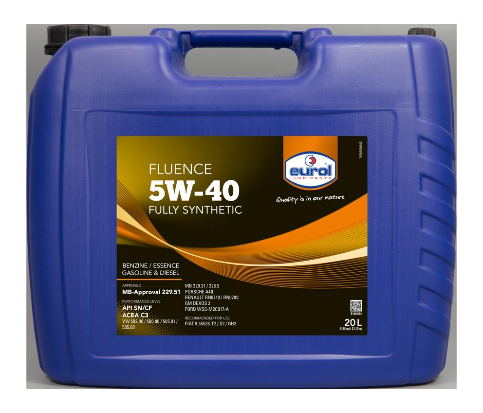 EUROL FLUENCE 5W-40 C3 5L