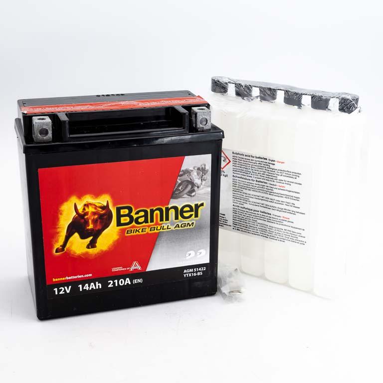 BANNER BIKE BULL AGM 14 AH