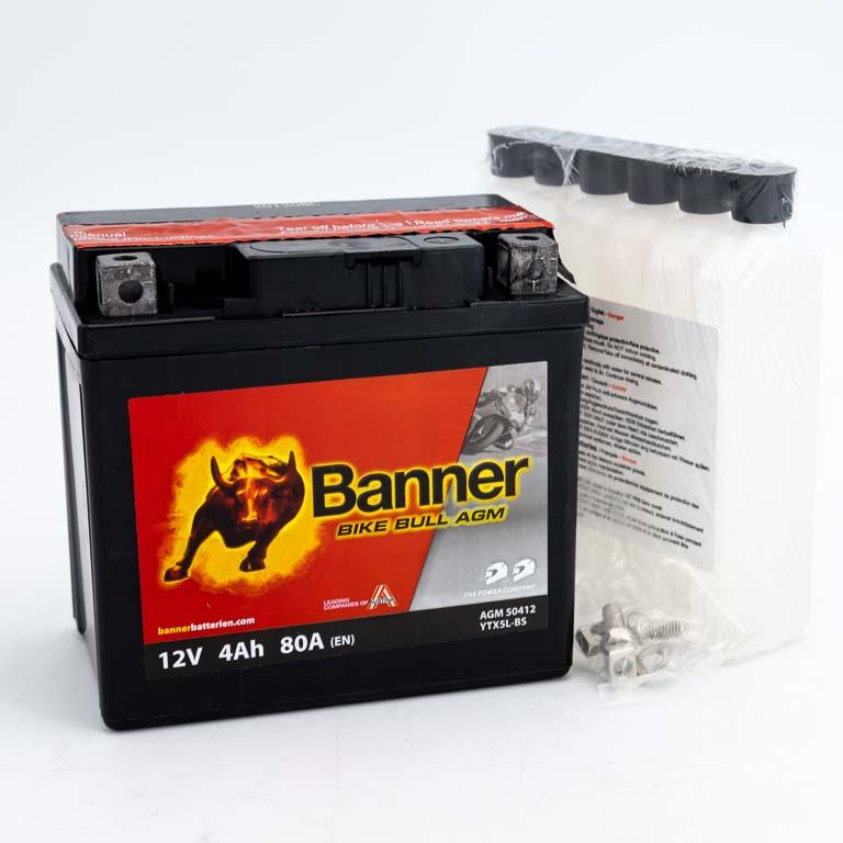 BANNER BIKE BULL 4 AH