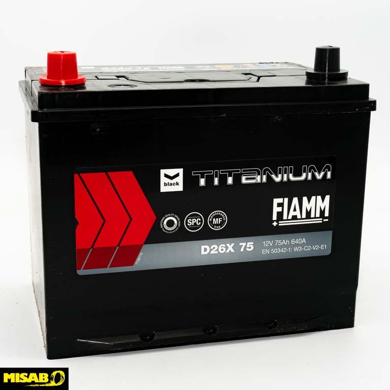 FIAMM TITANIUM 75 AH
