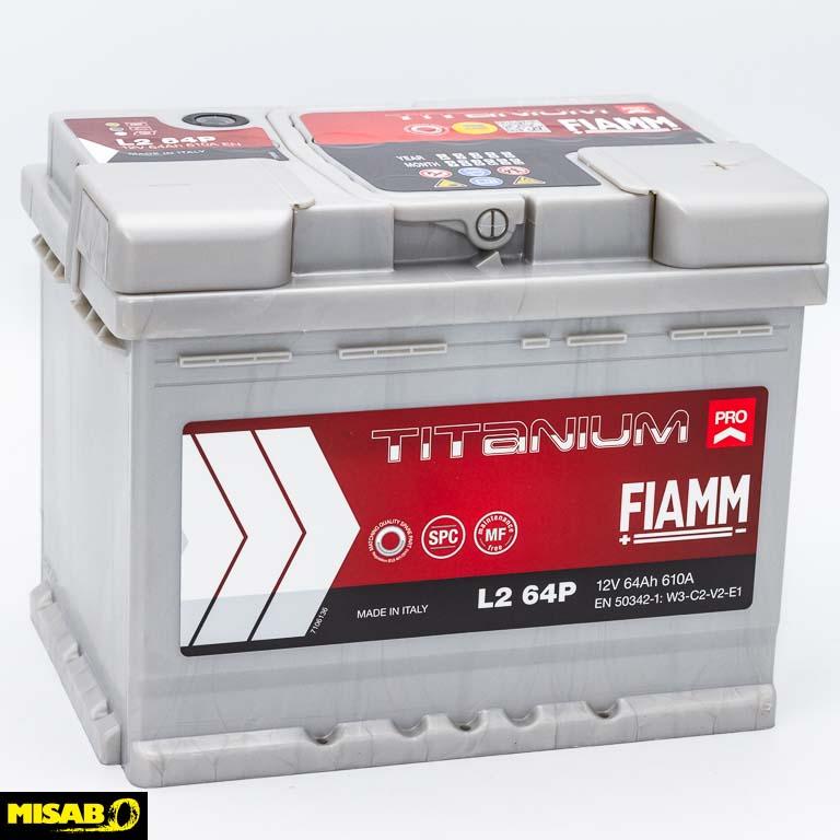 FIAMM TITANIUM PRO 64 AH