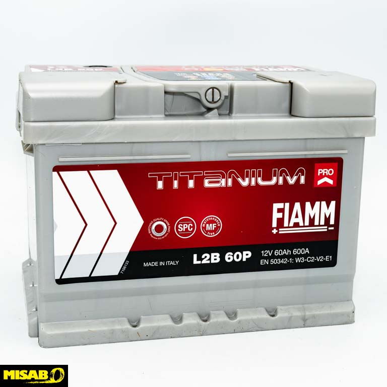 FIAMM TITANIUM PRO 60 AH 1 st