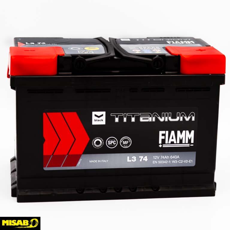 FIAMM TITANIUM 74 AH