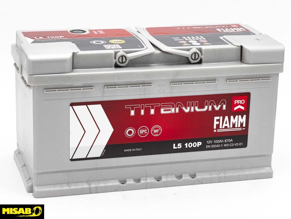 FIAMM TITANIUM PRO 100 AH