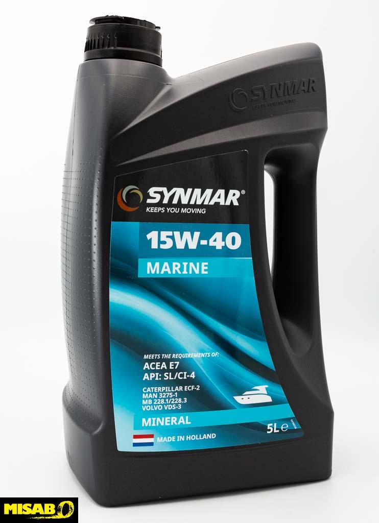 SYNMAR 15W-40 MARINE OIL 5 Liter