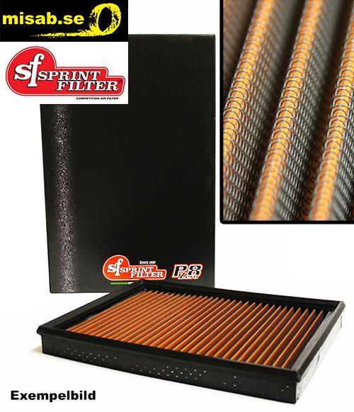 Sprint Filter luftfilter av polyester. Hög kvalitet. Lång hållbarhet.