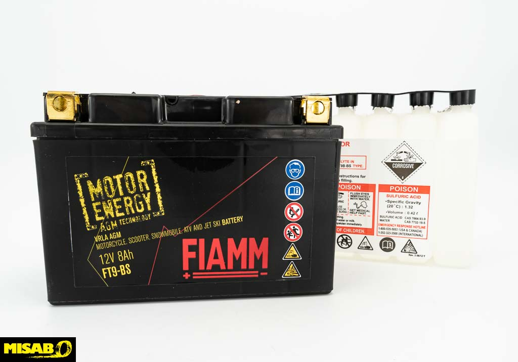 FIAMM AGM MC 8 AH